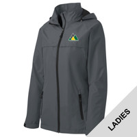 L333 - C149 - EMB - Central Region Ladies Waterproof Jacket