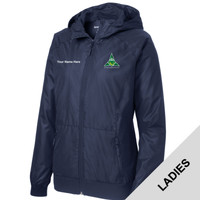 LST53 - EMB - Northeast Region Venturing Ladies Wind Jacket