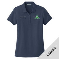 L100 - EMB - Northeast Region Venturing Ladies Pique Polo