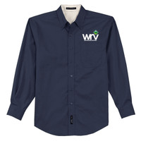S608 - W114 - EMB - Western Region Venturing Long Sleeve Easy Care Shirt
